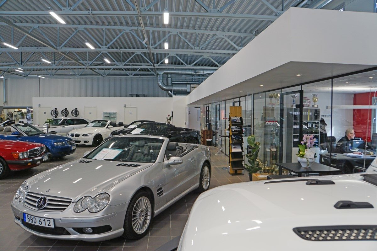 Car showroom, Lidköping Sweden | BORGA