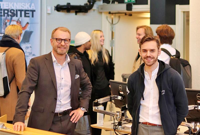Mats Gärdfors, koncernchef på Borga föreläste på Luleå tekniska universitet | BORGA